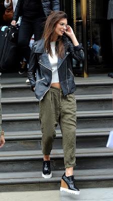Pantalones bombacho mujer