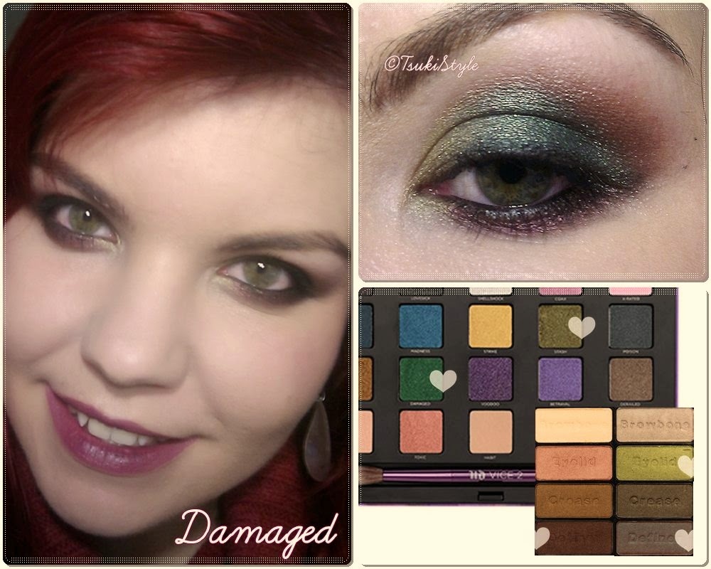 look verde makeup vice 2 comfort zone wet n wild urban decay