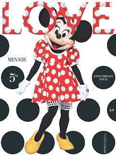 Minnie Mouse Shines On The Cover Of Love Magazine