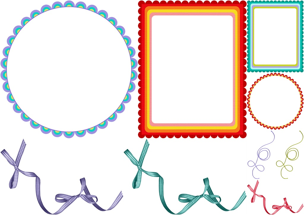 Frames And Borders Of The You Color My World Clip Art..
