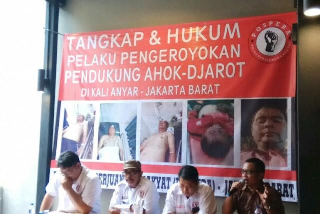 Mabuk Berat, Iwan Pendukung Ahok di Tambora Berbuat Onar, Akhirnya Dibogem Warga Hingga Babak Belur