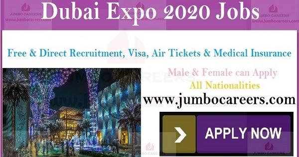 Dubai-Expo-2020-Latest-Job-openings  Th P Job For Dubai on computer science, civil engineering, for guyanese, quantity surveyor,