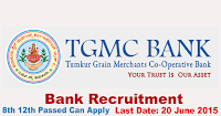 TGMC Recruitment Notification 2015