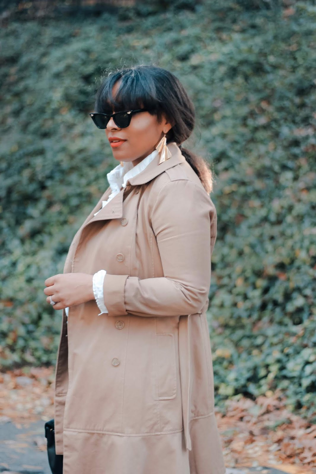 trench coat, investment pieces, fall looks, dcbloggers, fall fashion, fall boots