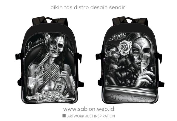 Custom Bags Desain Sendiri Ransel Backpack Distro 12 Desain