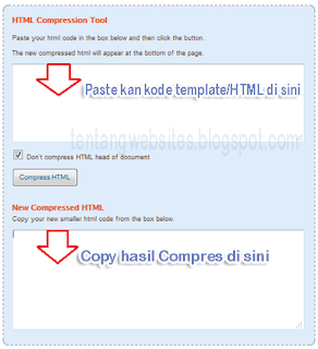 Cara Kompres template blog agar loading ringan