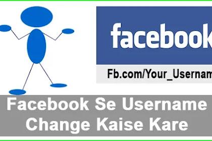 Facebook Ke Liye Username Kaise Banaye- Puri Jankari Hindi Me