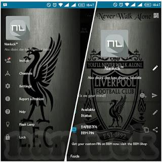 BBM Mod Liverpool New Style V2.10.0.31 Apk