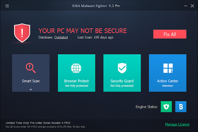 IObit Malware Fighter 4.5 Serial Key Crack