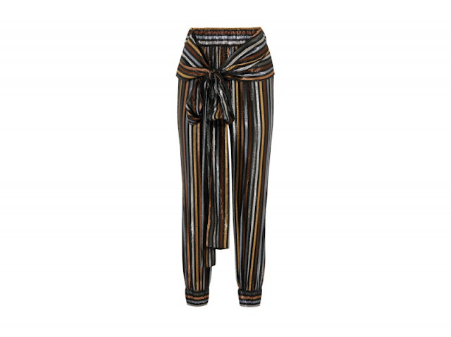 metallic pants tendenza primavera estate 2017 tendenza lamè accessori lamè abiti lamè abiti metallizzati metallic street style metallic trend