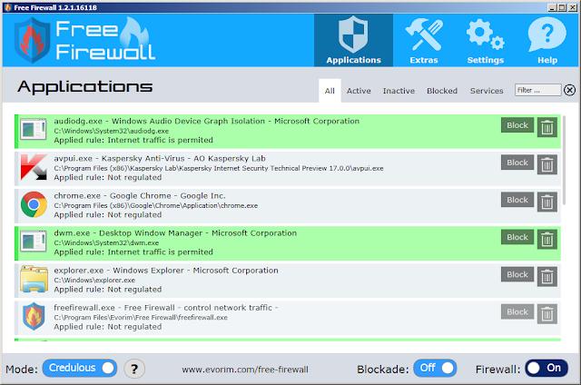 تحميل وتثبيت برنامج Free Firewall أفضل جدار ناري للويندوز
