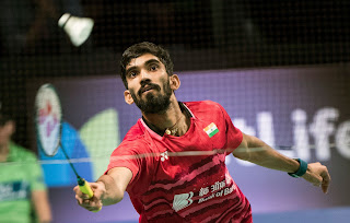 Spotlight : Kidambi Srikanth Lifts French Open