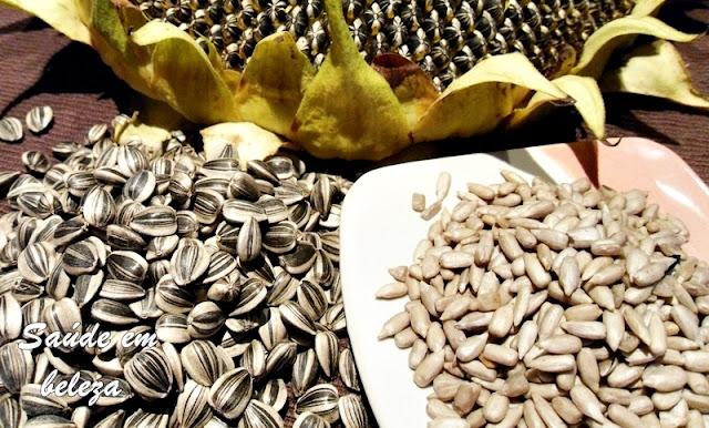 Benefícios da semente de girasol