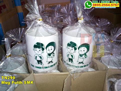 Jual Mug Putih SMK