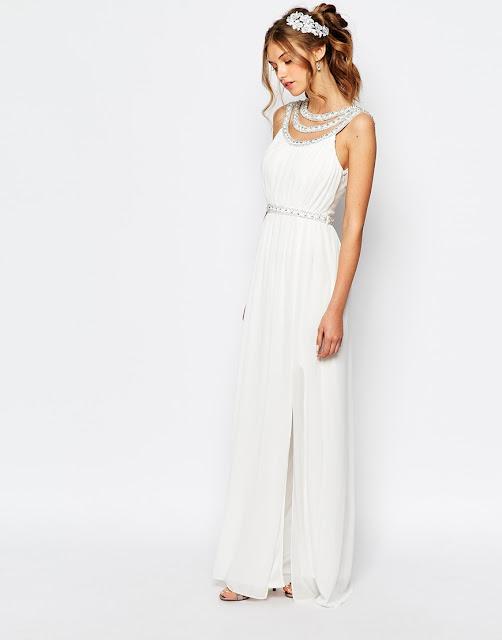 TFNC wedding dress, tfnc embellished wedding dress, embellished wedding dress abroad,