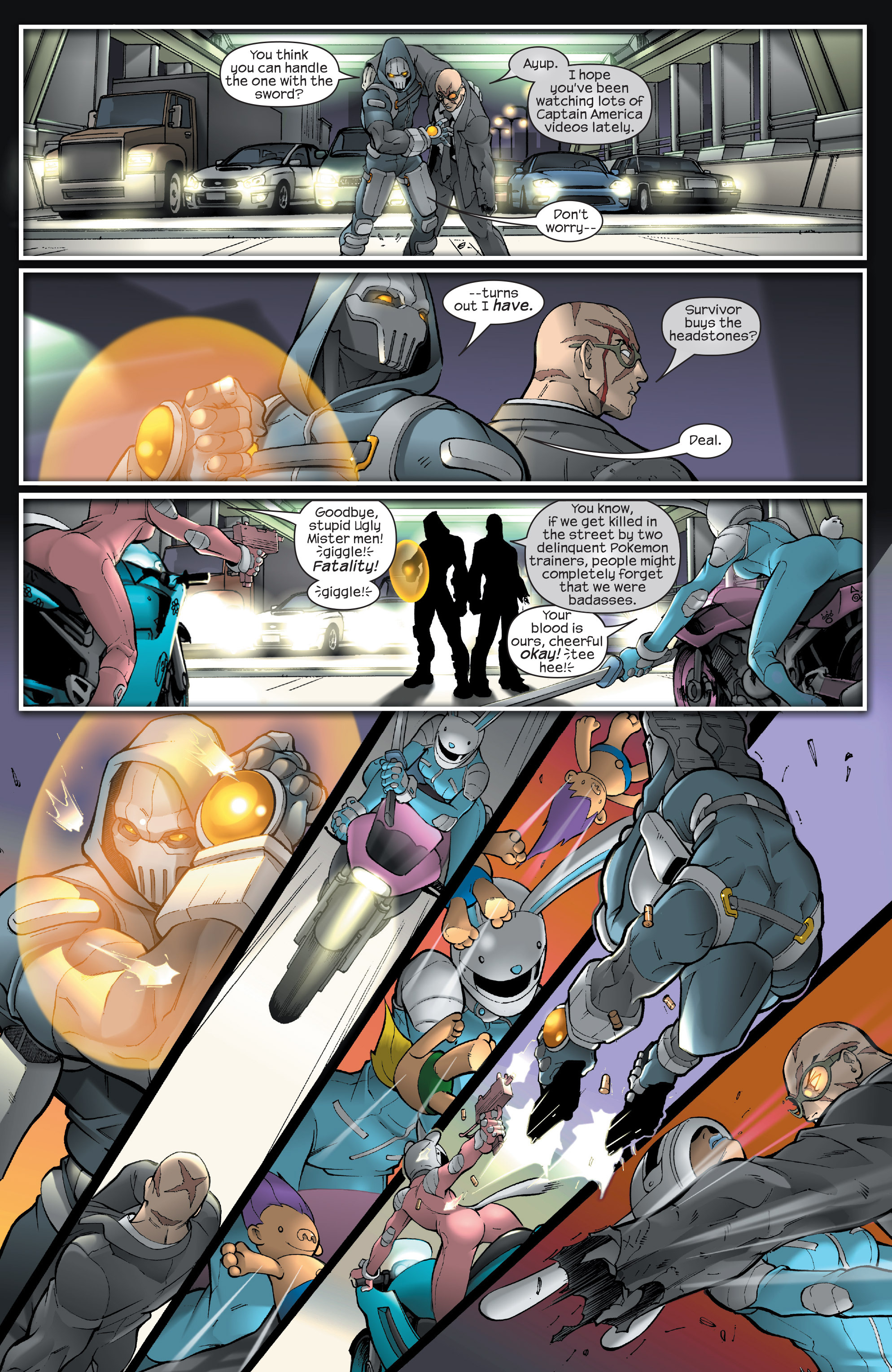 Read online Agent X comic -  Issue #13 - 18