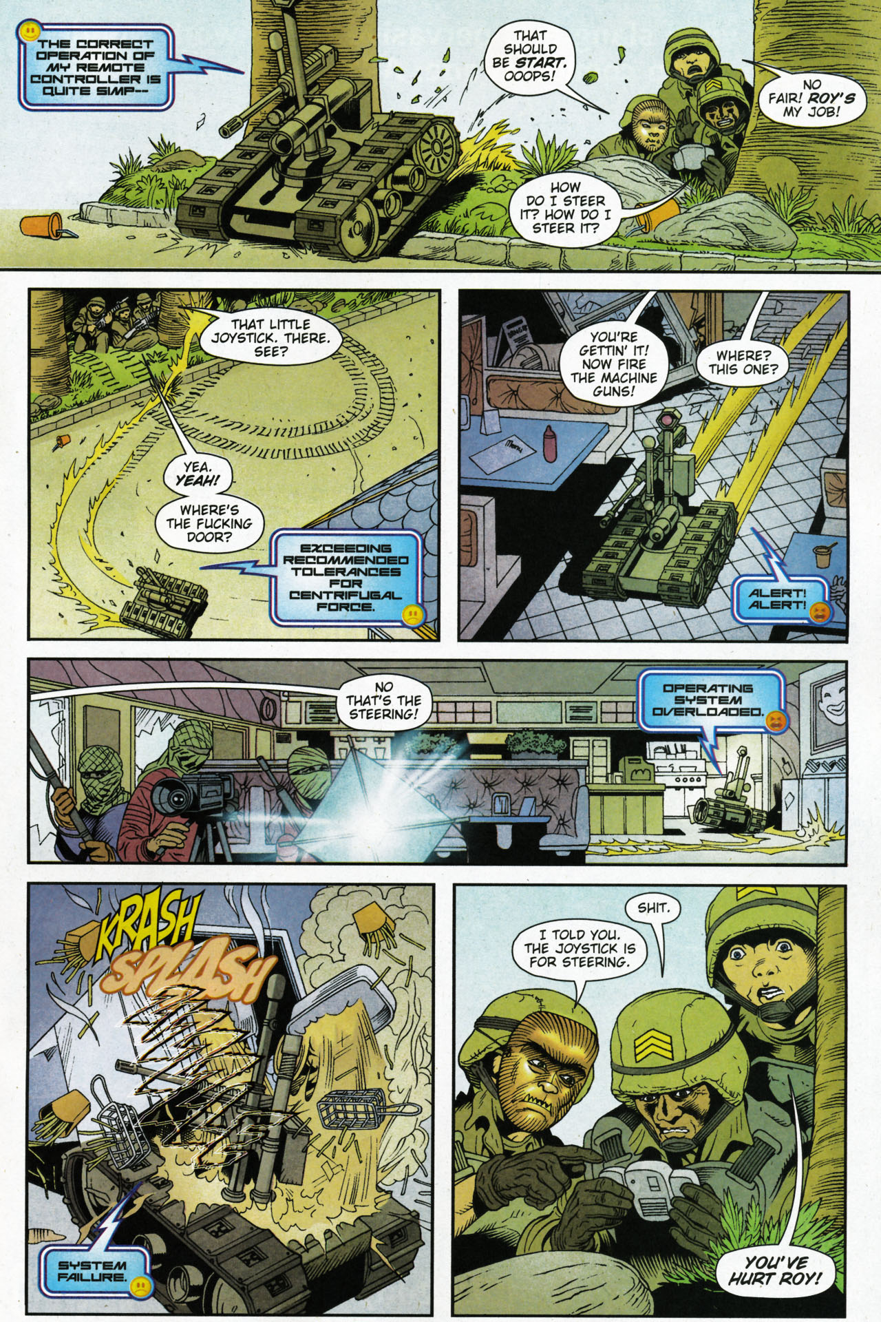 Read online Army @ Love comic -  Issue #4 - 15