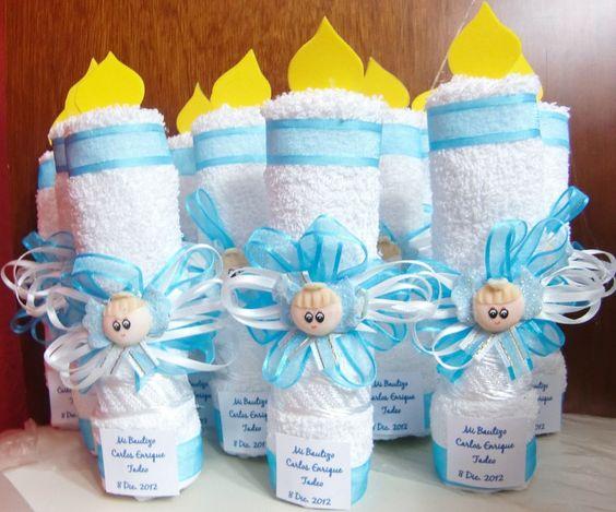 9 ideas de c mo decorar velas para bautizos y primera - Como hacer decoraciones de bautizo ...