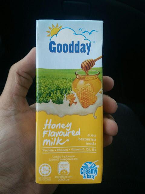 Susu Goodday pelbagai perisa yang berlemak dan sedap