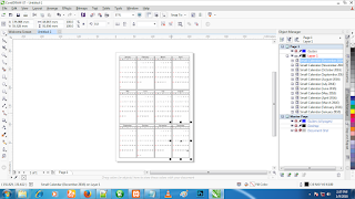 Cara Membuat Kalender Dengan CorelDraw X7 erdinmaulana.blogspot.com