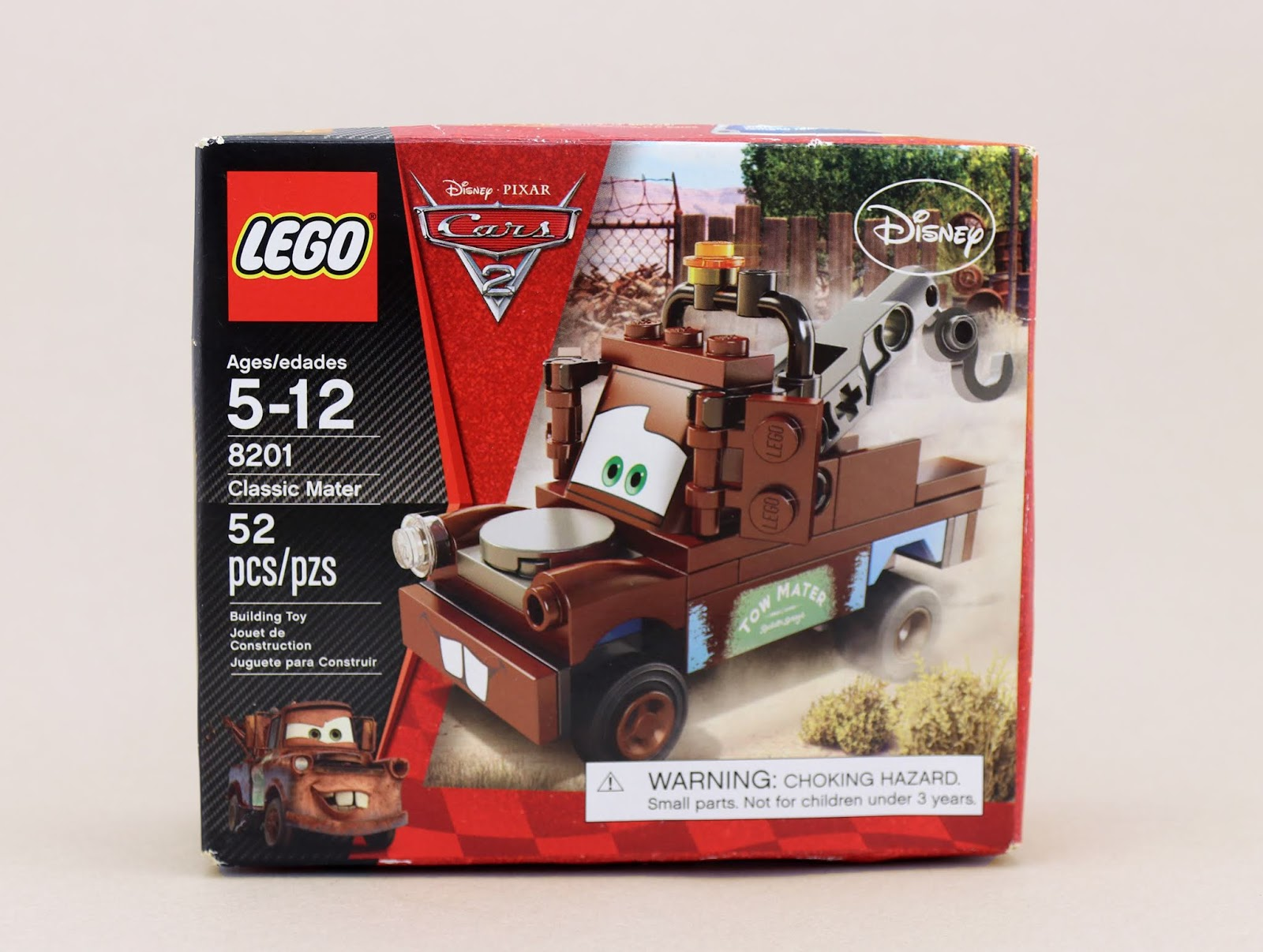 lego cars classic mater