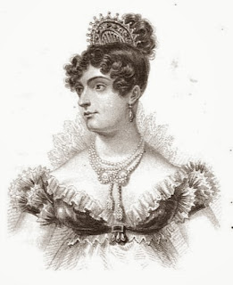 Caroline, Princess of Wales  from Huish's Memoirs of her late   royal highness Charlotte Augusta (1818)