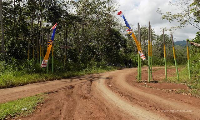 Rute menuju Bukit Pahiyangan