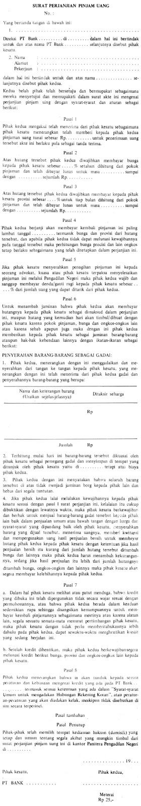 contoh-perjanjian-pinjam-uang