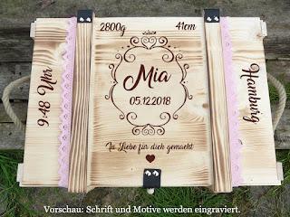 http://thebabypass.com/Erinnerungskiste-mit-Gravur-Maerchenhaft-/-Erinnerungsbox