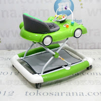 Care CW1032 2 In One Car Melody Baby Walker