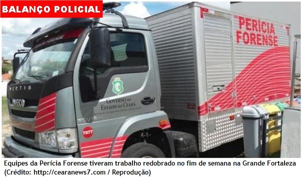 Violência no primeiro fim de semana de 2018 deixa 46 mortos em homicídios no Ceará