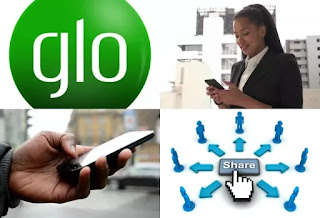 Share data on glo