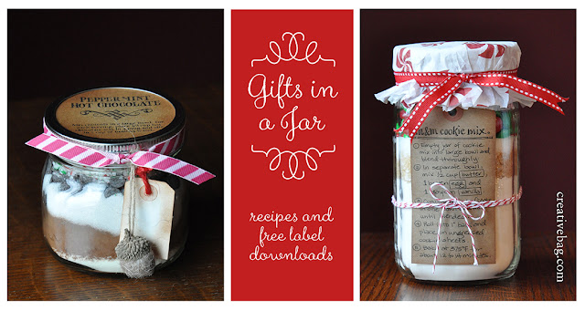 The Creative Bag Blog Gifts In A Jar With Free Recipe Label Downloads And Packaging Ideas