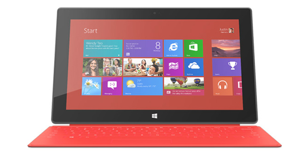 Get the original Microsoft Surface with 64GB and Touch Cover for just $329