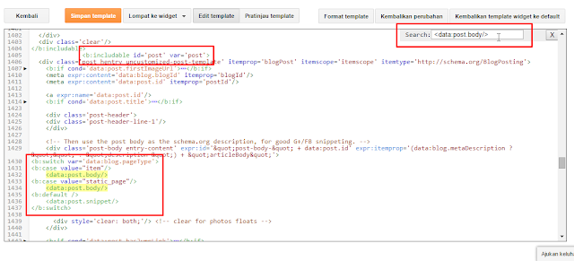 Cara Agar Posting Blog Auto Read More Tanpa JavaScript