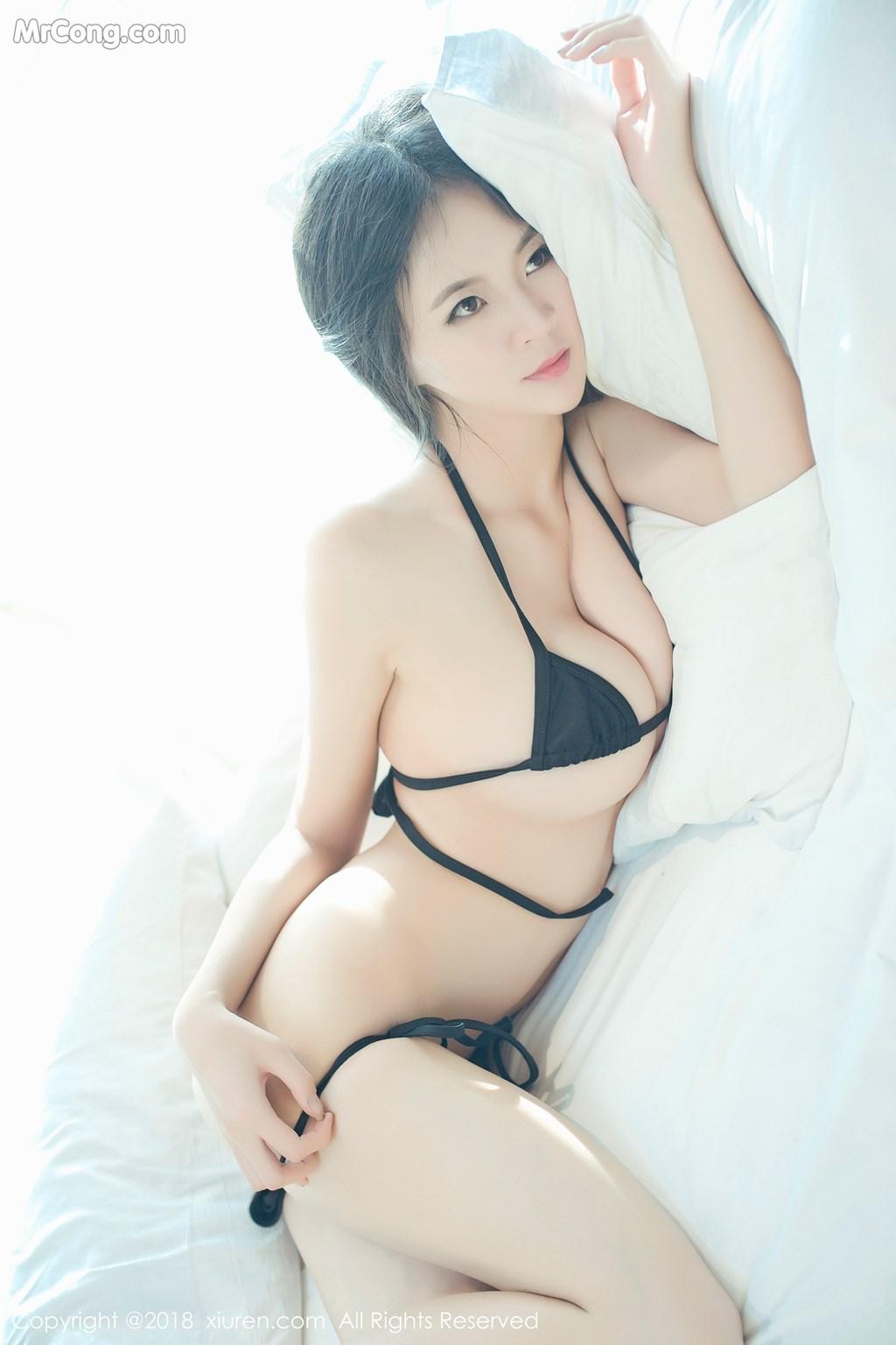 Image XIUREN-No.1003-Mote-Yue-Yue-MrCong.com-001 in post XIUREN No.1003: Người mẫu Mote Yue Yue (模特悦悦) (46 ảnh)