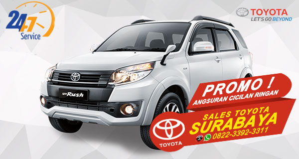 Promo Angsuran Cicilan Ringan Toyota Rush Surabaya
