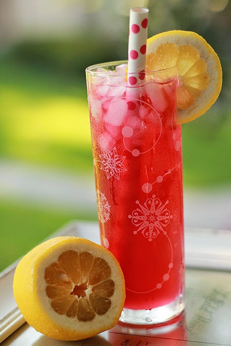 Homemade Passion Tea Lemonade