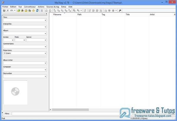 Mp3tag : un logiciel gratuit pour tagger vos fichiers audio