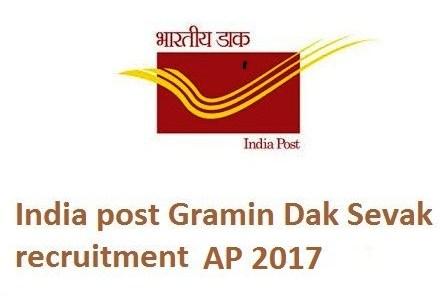 Latest Govt Jobs in AP GDS Recruitment 2017 Apply For 1126