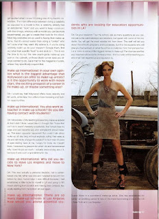 Dyana Aives as interviewed for Makeup Artist Magazine