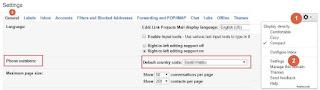 Gmail Settings General Tab