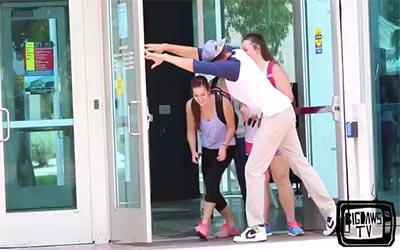 Awkward Door Holding – Funny Video