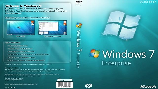 Windows 7 Enterprise 32/64 Bit Free Download ISO - computer tips and tricks