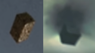 UFO Black Cube caught on camera over secret research base at White Sands near El Paso.