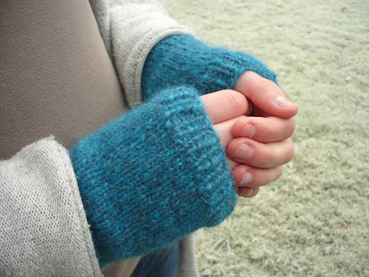 Warme Hände im Winter: Armstulpen stricken