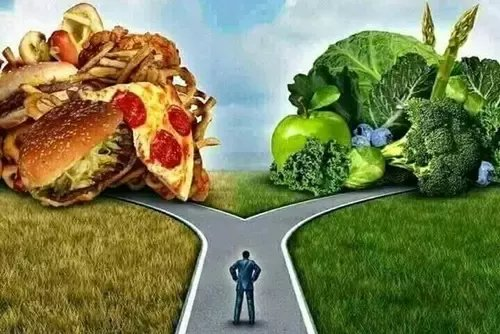 5 Best Ways to Burn Fat without Exercise, eating habit, Don't eat more than two types of food groups at a time