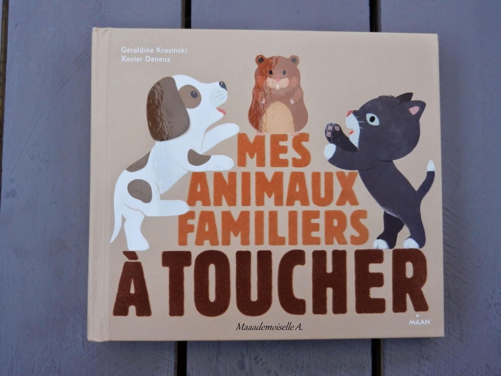 [Livre pour bébé : Présentation & Avis] Mes animaux familiers à toucher [Chut, les enfants lisent #1]