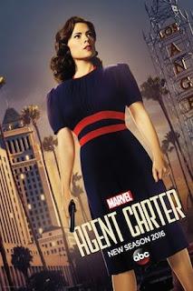Agente Carter Temporada 2 Poster