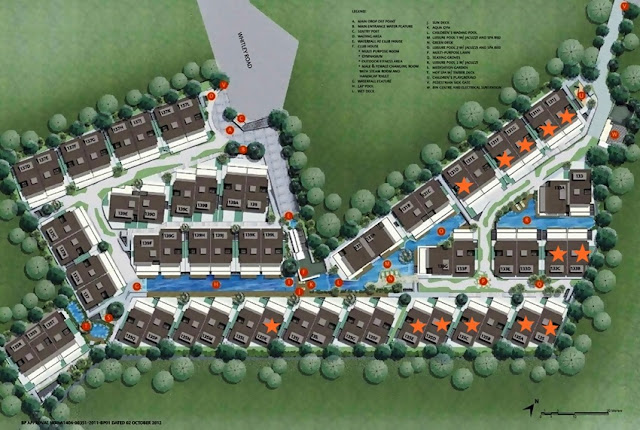 Whitlet Residences Site Plan